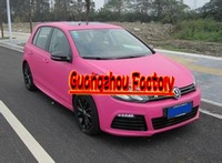 3D Carbon Fiber Vinyl Film with Air Drain,Car Styling,Size1.52*30M for car full body Stickers, 13 colors choice Rose Red