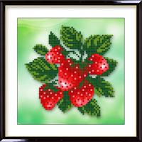 Diamond painting diamond small strawberry 5d three-dimensional rhinestone pasted painting 5d rhinestones