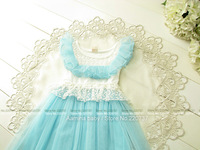 Wholesale 5pcs/lot (#1008),Lace baby girl dress,  2014 summer kids clothing,new fashion Korean style girls clothes
