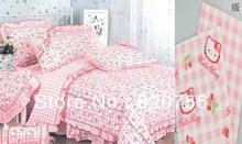 popular cat printed fabric