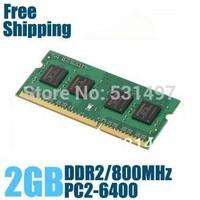 Brand New Sealed DDR2 800 / PC2 6400 2GB  Laptop RAM Memory / Lifetime warranty / Free Shipping!!!