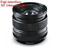 Fujifilm/Fuji XF 14 mm f/Fuji camera lens, wide-angle prime lens/Fuji interface/automatic lens Global free shipping