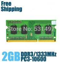 Brand New Sealed DDR3 1333 / PC3 10600 2GB  Laptop RAM Memory / Lifetime warranty / Free Shipping!!!