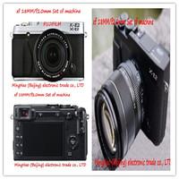FUJIFILM/Fuji/X - E2 (xf18MM/f2.0 mm) set of machine high-definition camera 1080 p screen 3.0 professional digital SLR camera