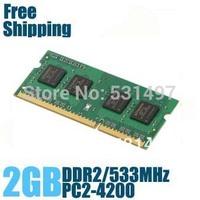 Brand New Sealed DDR2 533 / PC2 4200 2GB  Laptop RAM Memory / Lifetime warranty / Free Shipping!!!