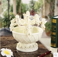 Quality fashion decoration feng shui wheel water features fountain lucky home accessories