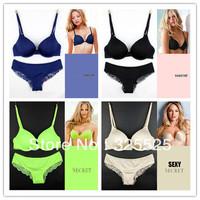 free shipping sexy lace bra set ladies seamless bra sets push up bra women underwear