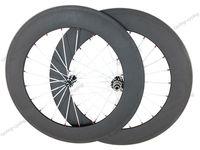 Super light wheel fit shimano 11S 88mm clincher bicycle wheels 700c Carbon fiber road bike Racing wheelset