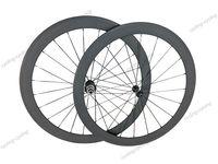 Super light wheel fit shimano 11S 50mm tubular bike wheelset 700c Carbon fiber road Racing bicycle wheels
