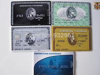 Wholesale Fashion Express American Credit card USB Flash drive 2.0 Memory pen Drive Stick Pen/Thumb/Car free shipping