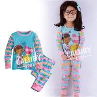 fashion cartoon boys girls frozen kids pajama sets,toddler baby children clothing set,long sleeve child sleepwear,baby pyjama