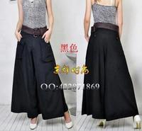 Free Shipping!Hot Selling New Fashion Women's Wide Leg Casual Pants,Plus Size