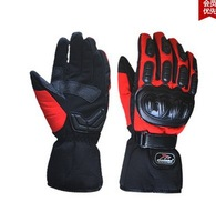 Warm gloves 100% waterproof windproof electric car racing motorcycle gloves