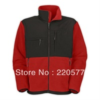 Free Shipping Men Denali Fleece Jacket Male Camping Windproof Coat Outdoor Sportswear Jacket Black S-XXL