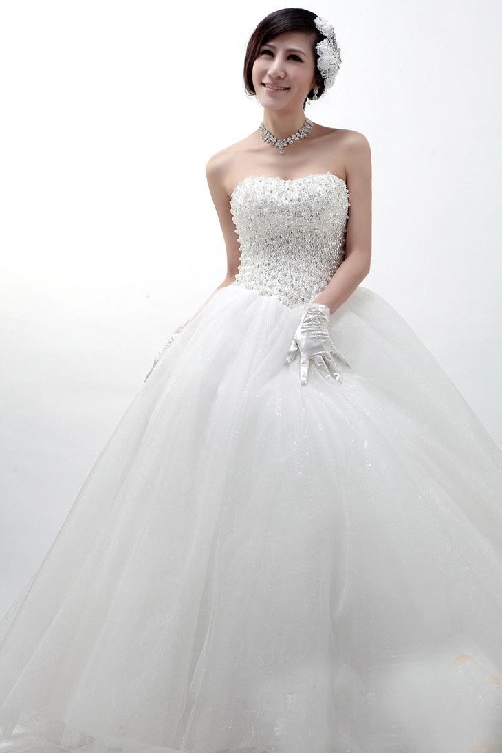 2013 nuovo arrivo abito da sposa abiti da cerimonia moda elegante tubo dolce in alto diamante decorazione perla metà vita da sposa sposa
