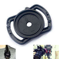 2pcs 55mm 52mm 43mm Universal Lens Cap Anti-losing Camera Buckle Lens Cap Holder 0.25-ULF22H-2