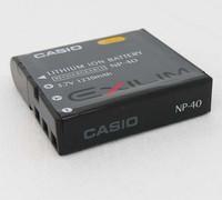 NP-40 Battery For casio Z200 Z1050 Z750 Z1080 Z700 camera battery