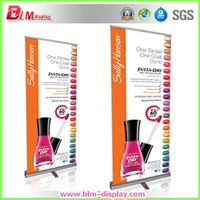 Free shipping aluminum roll up banner stand with graphic printing hotsale luxury pull up banner