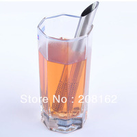 Stainless Steel Tea Bags Oblique Tea Stick Tea Strainers Teaspoon Filter Infuser Filtration Steeper