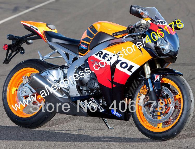 Hot Sales,Hi-quality Repsol fairing kit for 2008 2009 2010 2011 CBR1000RR CBR1000 08 09 10 11 CBR 1000RR (Injection molding)(China (Mainland))