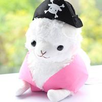 Pirate arpakasso alpaca doll horse wool velvet toy doll goatswool for baby