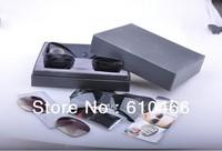 Caravan Flipout Sunglasses men women brand designer sunglasses 3461 black (Changeable Lens)-59mm wholesale freeshipping