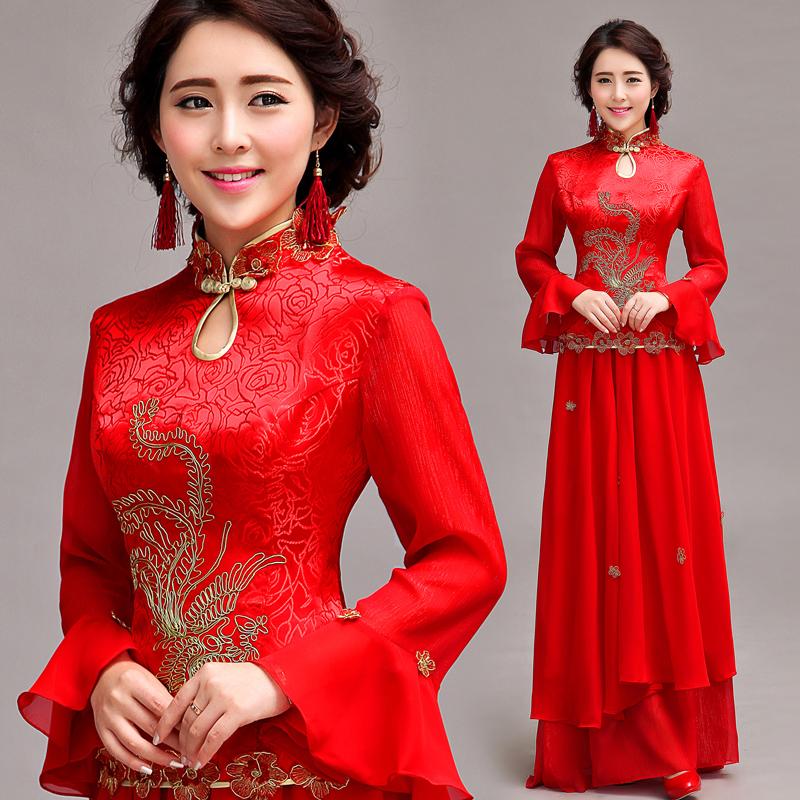 robe de mariage chinois en Ligne à des Grossistes entreprise robe ...