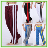 Free shipping fashion men's sports long pants Polyester leisure trousers loose pants long pants  high quality