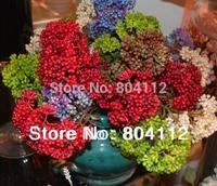 Bunch Cute Hydrangea Fruite Artificial Floral Decoration 35cm tall