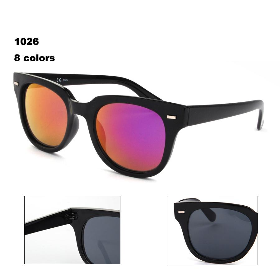 New hot very high quality fashion eyewear Urban outfitters women men rivet zonnebril 1026(China (Mainland))