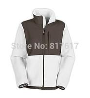 Free Shipping 2014 Brand Winter Womens Denali Fleece Jacket White Lady Mountaineering Camping Windproof Sportswear  S-XXL