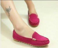 2014 new fashion Women Shoes  with a single flat shoes  casual shoes Peas Women flat shoes popular models free shipping