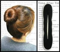 E6024 hair meatball head accessory bud head steamed stuffed bun maker head hair stick tape tool sponge hair maker