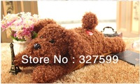 Dog Electric hot water bottle charge explosion-proof hand po plush hand bags cartoon hot water bottle dual flashlight heater