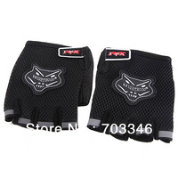 Breathable Mesh Fabrics Half Finger Gloves Sport Cycling Gloves Gym Outdoor Activity Gloves