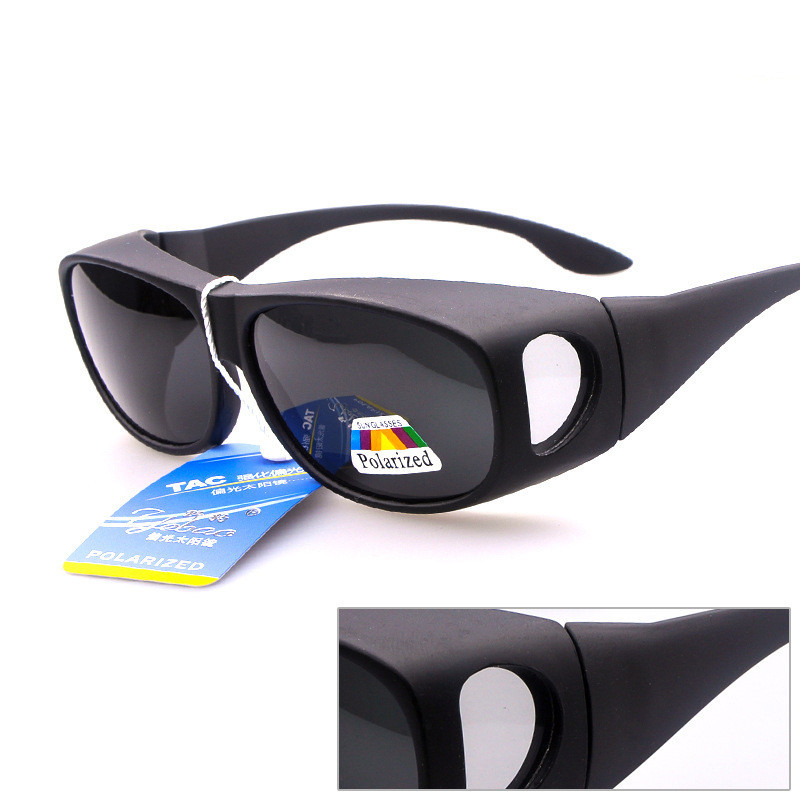 Prescription Strength Myopia Over The Glasses OTG Sunglasses oversized shades Driving Sun Glasses Shades 4 Pieces Per Lot(China (Mainland))