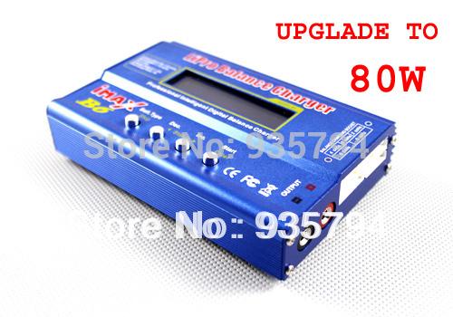 PROMOTION FREE SHIPPING High Quality 80W IMAX B6 Digital Balance Charger for 2S-6S 7.4V-22.2V RC Lipo NiMh Batteries(China (Mainland))