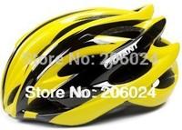 Both men and women GIANT lightweight Integrally-molded Helmet bicycle helmet Yellow