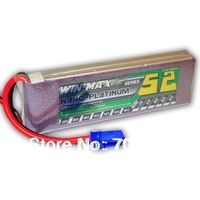 RC00240 Winmax 5200mAh 7.4V 80C MAX 2s Lipo Battery Pack Akku W/ Connector For RC Model