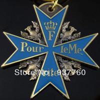 Blue Max (Soft Enamel +Polyethylene Resin +Antique Bronze Plated)