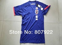 New 2014!!! Japan Home Soccer Shirt,Player Version Thailand Quality Japan Soccer Jersey+Free Shipping