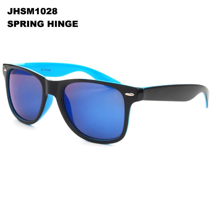 New fashion spring hinge wayfarer shades women mens sunglasses ray a band sunglass JHSM1028(China (Mainland))