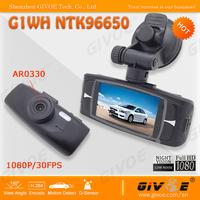 Novatak 96650 G1WH Car Camera DVR Full HD 1920*1080@30FPS With WDR + 140 Degree Angle Lens + G-Sensor