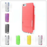 2014Hot New Fashion TPU Glossy  Mobile phone Holder case Cover Case For iPhone 5C Hard Back Free shipping B375
