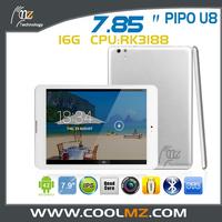PiPO U8 mini pad tablet pc Android 4.2 RK3188 Quad Core 1.6GHz 2GB RAM 16GB 5.0 MP Camera Bluetooth HDMI