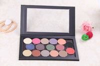 Free Shipping!!!New 15 colors timeless magnetic eye shadow palette,Alligator Pattern Empty diy magnetic makeup palette