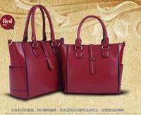 Fashion vintage leather bag 2013 women's genuine leather handbag fashion women's handbag messenger bag