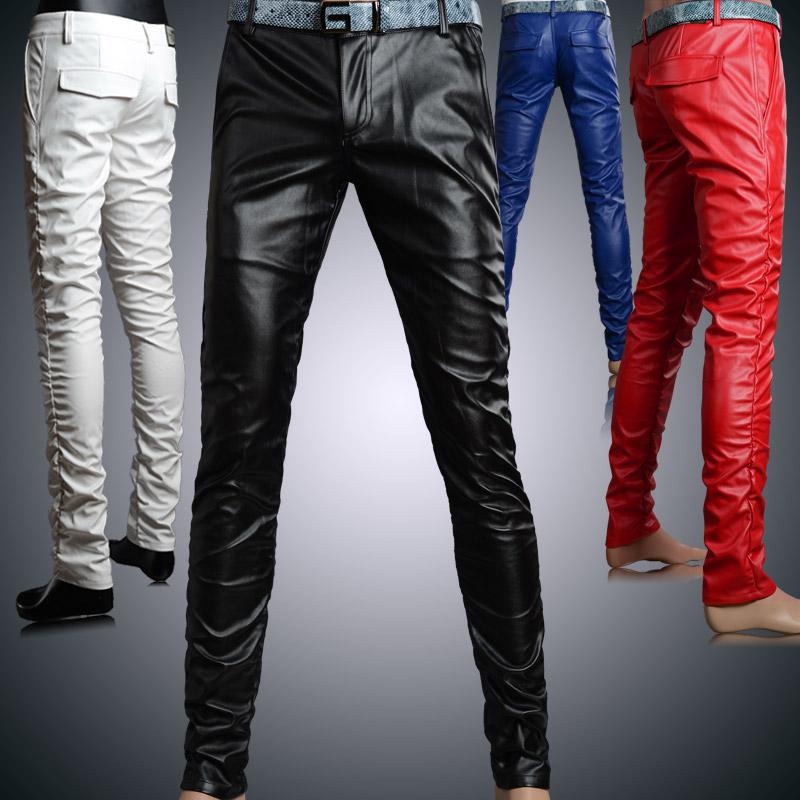 Mens Leather Pants Men 39 s Winter Fashion Leather