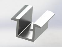 solar mid clamp/ solar mounting accessories Medium pressure block