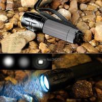 3PCS/LOT New Portable Mini Flashlight Waterproof Adjustable LED Flashlight Zoom Flashlight Lamp Hand Torch Lamp lights 19028